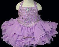 Sweet Purple Pageant dress