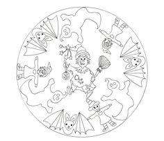 Ausmalbilder Halloween Mandala Windowcolor Malvorlagen Coloring Ausmalbilder Malvorlagen Co Malvorlagen Halloween Halloween Mandala Halloween Ausmalbilder