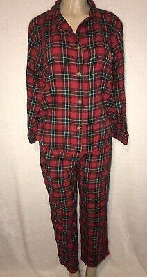 Girls Pajama Pants sz 14 OLD NAVY Blue 100/%Polyester Flannel w//Santa Sleigh NEW