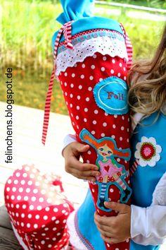 felinchens: Pippi Langstrumpf Schultüte