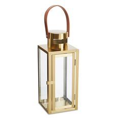 Brass Effect Lantern