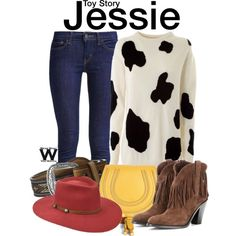 Inspired by Disney's Jessie from the Toy Story franchise.