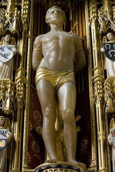St Sebastian (Comper)