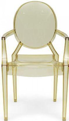 Kartell-Louis-Ghost-Armchair-Transparent-Yellow-0