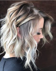 Wavy Haircuts for Medium Length Hair ,      From pearly balayage on ash blonde medium length wavy hairstyles to different color combines we will be talking about.Fresh opportunities co... , Medium Hair