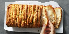 """This flaky pull-apart bread, a perfect Game Day snack, will have you saying """"It's good!"""""""