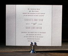 Letterpress Wedding Invitations | Collection Design | Bella Figura Letterpress