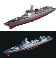The Type 055 Collection - Modern Warships - World of Warships official forum Army & Navy, Military Army, People's Liberation Army, Military Drawings, Us Navy Ships, Sci Fi Ships, Naval, Military Equipment, Aircraft Carrier