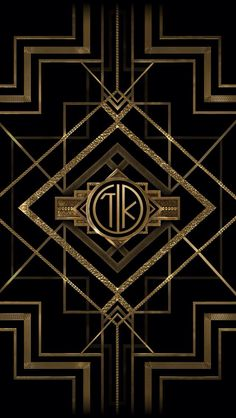 Initials Gatsby style