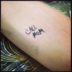 And finally, this very important reminder: | 16 Beautifully Touching Tattoos That Honor Moms