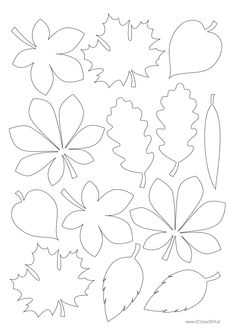 Com Best 12 Przedszkole SkillOfKing.Com The … Best 12 Przedszkole SkillOfKing.Com Best 12 Przedszkole SkillOfKing. Autumn Crafts, Fall Crafts For Kids, Autumn Art, Autumn Leaves, Art For Kids, Fall Paper Crafts, Leaf Template, Flower Template, Templates