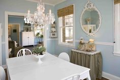 I have loved this dining room for ages. D*S Sneak Peek: Amy Zurcher, Art and Found.