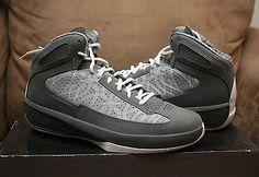 best service eff37 35ac7 2009 Nike Air Jordan Icons Size 10 - Cool Grey White - 393852 010   eBay