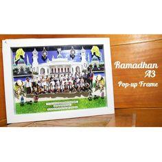 Ramadhan Pop up Frame A3