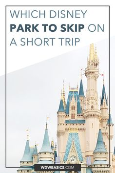 Which Disney Park to Skip If You Only Have 2 Or 3 Days // WDW Basics // Which Disney World park should you skip if you have a short trip? I break down each Disney World park so you can choose which Disney park to skip based on your interests and vacation style. // PIN THIS and TAP TO READ #disneyworld #disneytrip
