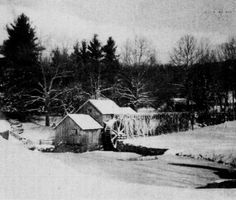 Mabry Mill – Draped in winter snow and ice, Milepost 176 on the Blue Ridge Parkway, Meadows of Dan, Virginia. Photograph by Jack T. Appalachian Mountains, Snowy Mountains, Blue Ridge Mountains, Meadows Of Dan, Winter's Tale, Blue Ridge Parkway, Winter Beauty, Winter Wonder, Winter Snow