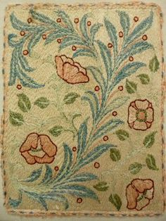 May Morris embroidery c 1885   Morris & Company   Meg Andrews ...