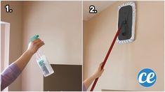 Comment nettoyer un mur blanc ou peint facilement Decoupage, Messages, Organization, Orange, Projects, Effort, Decor, Tips, Women's Work Fashion