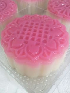 枫林温馨花园   Maple Grace Garden                                                              : ~Strawberry Homemade Soya Red Bean Jelly MoonCake ...