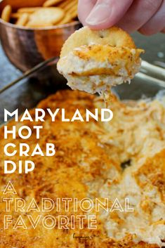 Crab Dip Recipes, Seafood Recipes, Cooking Recipes, Md Crab Dip Recipe, Best Dip Recipes, Yummy Recipes, Yummy Appetizers, Appetizer Recipes, Sauces