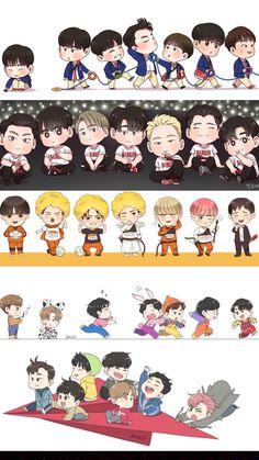 Ikon Wallpaper, Cartoon Wallpaper, Ikon Kpop, Kim Hanbin, Tumblr Boys, Yg Entertainment, South Korean Boy Band, Bigbang, A Team