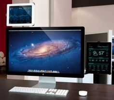 Impress friends and office mates with a jaw-dropping, super futuristic, straight out of Hollywood Mac setup.