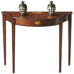 Masterpiece Olive Ash Console Table -