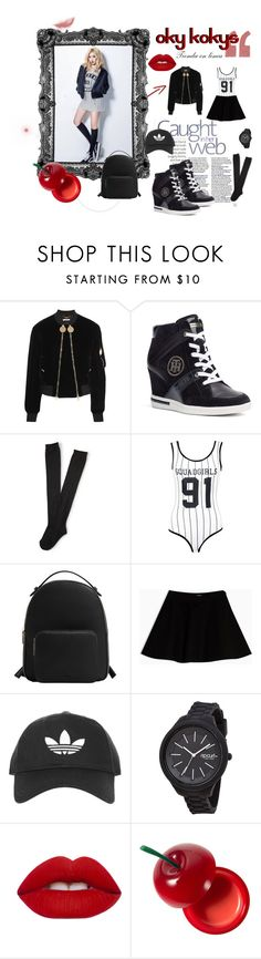"""""""hyuna kpop style"""" by anna-lauren on Polyvore featuring moda, Givenchy, Tommy Hilfiger, Aéropostale, Boohoo, MANGO, Max&Co., Topshop, Rip Curl y Lime Crime"""