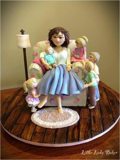 Maya Bassan~ Not Just Someone Who Bakes, For Goodness Sake. . .She's The Sculptor Of Cakes! ~ Children's Cakes With Extra Zing And Bling.