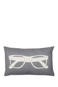 """Sunglasses Print Frost Grey/White Pillow - 12"""" x 20"""" by Thro Home on @HauteLook #thro #throbyml #marlolorenz #pillows #collection #homedecor #home #decor #style #fashion #design #prints #patterns #words #glam #sparkle #shine #animals #decorate #redecorate #livingroom #bedroom #house #like #follow #share #spread #love #hautelook #sale #shop #shopping #buy #gifts #presents"""