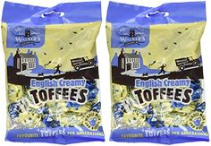 , Two bags: Walkers Nonsuch as been making superb toffees for over a hundred years. This English Toffee is smooth, creamy and delicious. Toffee Candy Bar, Toffee Popcorn, Toffee Bars, Toffee Cookies, Popcorn Recipes, Candy Recipes, Gourmet Recipes, Snack Recipes, Toffee Cake Recipe