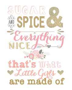 Sugar and Spice and Everything Nice by DubDubDesigns on Etsy
