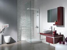 1 claret red bathroom decoration ideas