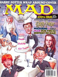 Mad Magazine No. 450. Harry Potter.