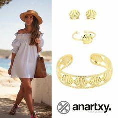 Temporada de playa #anartxy #JoyasEnAcero #JóiasEmAço #SteelJewel #BijouxEnAcier #estilo #style #woman #playa www.anartxy.com