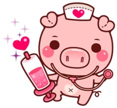 Pigma version 2 : They will bring more excitement and fun to your chatting. Kawaii Pig, Pig Images, Frog Drawing, Cute Animal Illustration, Mini Pigs, Cute Piggies, Dibujos Cute, Baby Pigs, Line Sticker