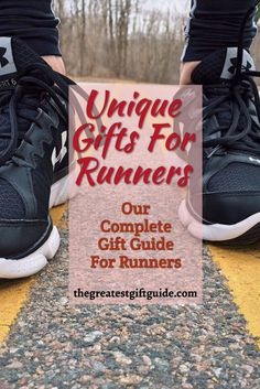 Unique gift ideas for men and women who love to run. We have the best gifts for a runner, including some funny running gifts.