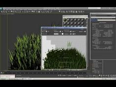 """realistic grass tutorial with 3ds max """"PFlow"""" and VRay"""