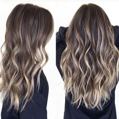 Medium to Long Hair Styles – Ombre Balayage Hairstyles for Women 2019 – unterhellt Haare Brown Hair Balayage, Brown Blonde Hair, Hair Color Balayage, Brunette Hair, Hair Highlights, Balayage Brunette Long, Dark Brown Balayage Medium, Fall Balayage, Balayage Hairstyle