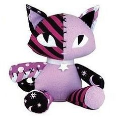 Emily the Strange Kitty Plush =^..^= @gwendolyn | pinkgraygold.com Blazeichuk  How cute is this!?