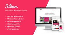 Silicon - Responsive WordPress Theme - ThemeForest Item for Sale