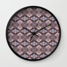 """Pink Wink Wall Clock 