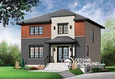 Plan de maison no. W3714 de dessinsdrummond.com
