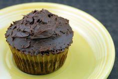 GF flourless chocolate cupcakes