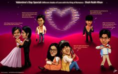Who Needs 50, When SRK Can Manage With 5 Shades Of 'Romance' | Valentine's Day Special