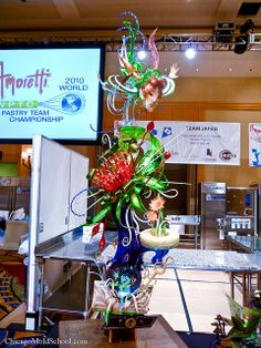 World Pastry Championship 2010 - Team Japan's winning sugar showpiece - The Chicago School of Mold Making #sugar #peterpan