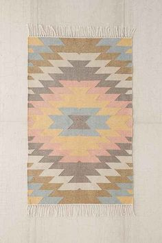 Color Combo Inspirations. Pastels with Aztec shapes.