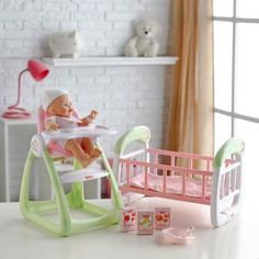 Fisher Price Doll Play Set