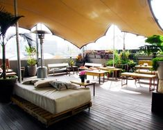 Relax at the Living Room, an eco-friendly cafe and events venue (Picture: supplied)