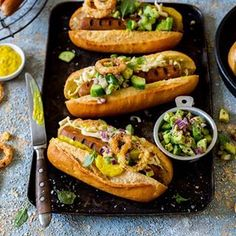 Load up your #BraaiDay hotdogs with crispy onions, tangy mustard and creamy avo. We love these loaded dogs for #HeritageDay2018 🇿🇦 Made with @frysfamily Food Co. Original Hot Dogs. 🌭🌱 . . Recipe at the link in our bio. #foodie #foodphoto #foodstyling #plantbased #braai #veganbraai #veganbraaiday #foodphotography #cooking #recipe #foodshare #hautecuisines #food52 #feedfeed #gloobyfood #buzzfeast #foodiecrush @food_iglooby #rollwithus #foodgawker #Still_Life_gallery Recipe, Styling & 📷…